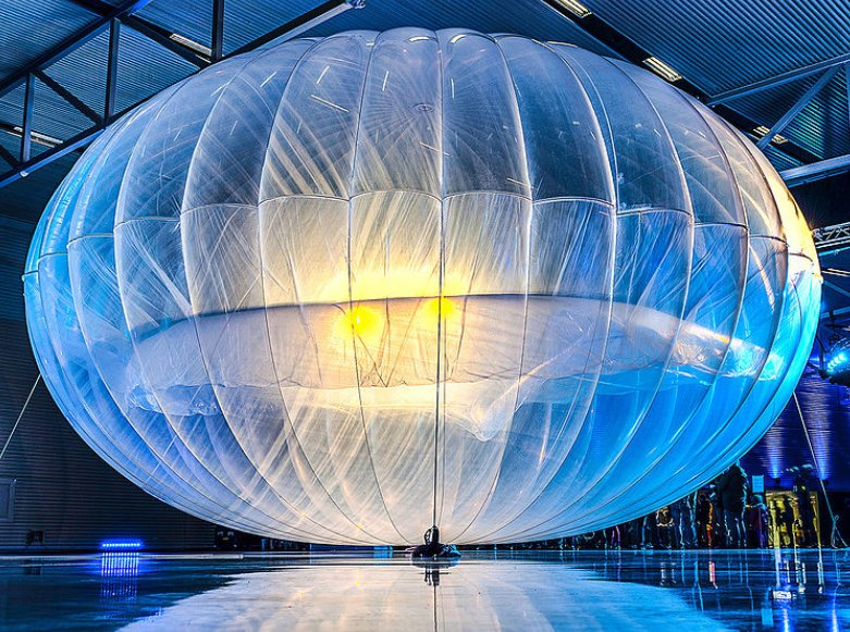 Project Loon is an internet infrastructure plan.