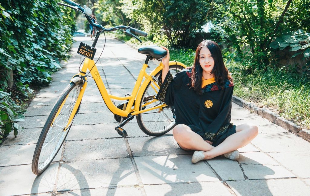 Dockless bikes take over Chinese city