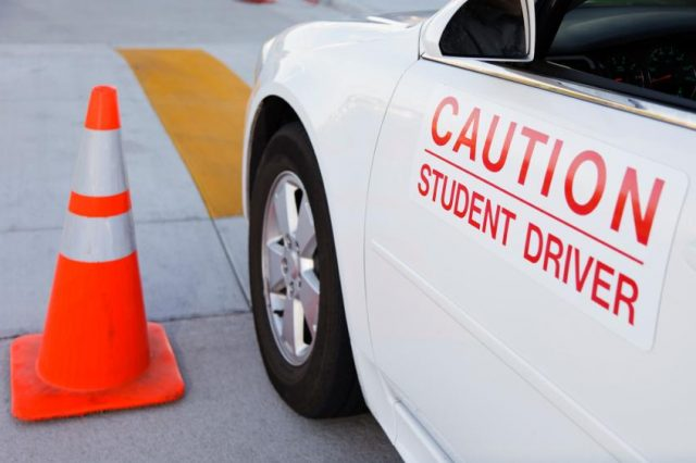 student driver test