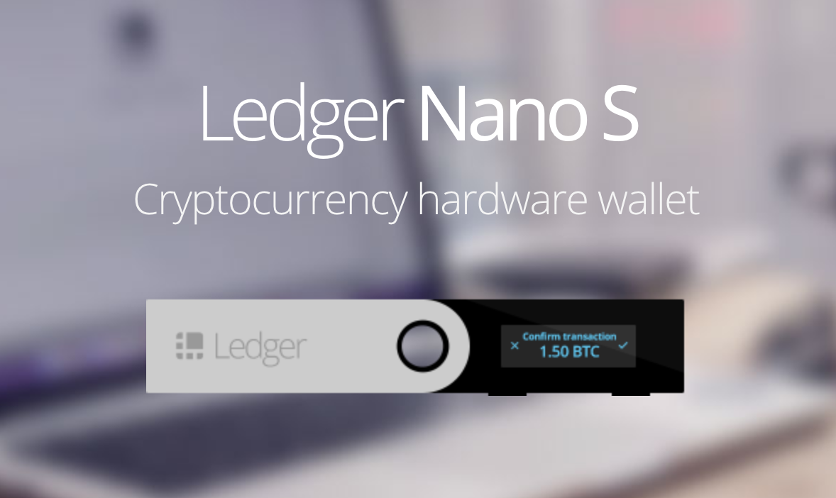 Ledger Nano S Confirm Transaction