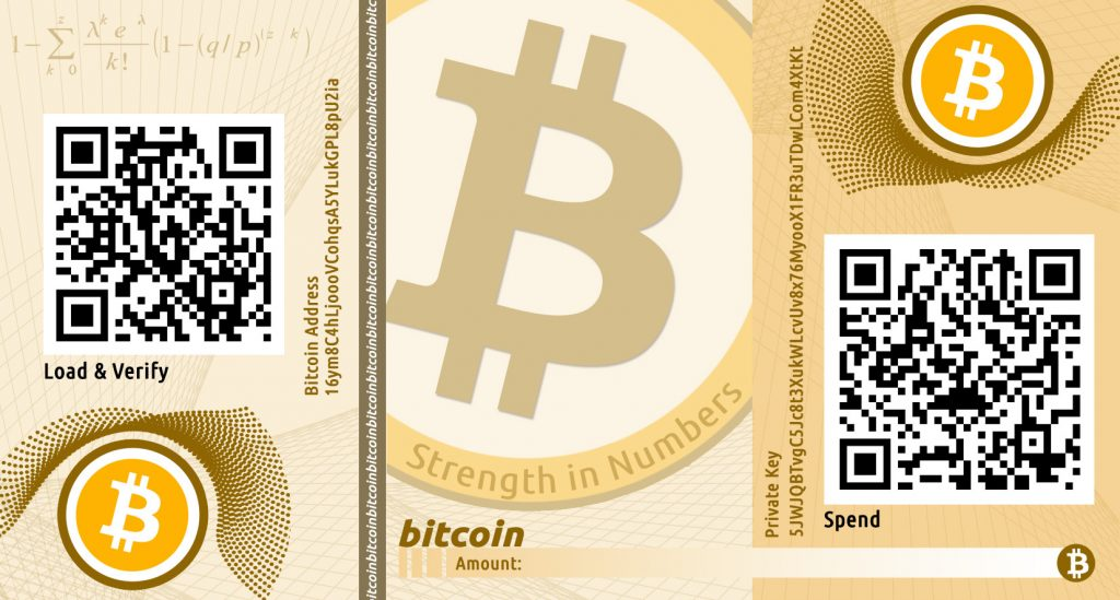 bitcoin address - public and private keys