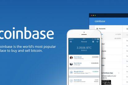 coinbase mobile app and web platform