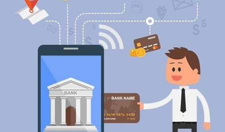mobile banking infographic