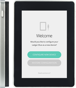 Ledger Blue Configure