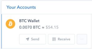 How to send on Coinbase